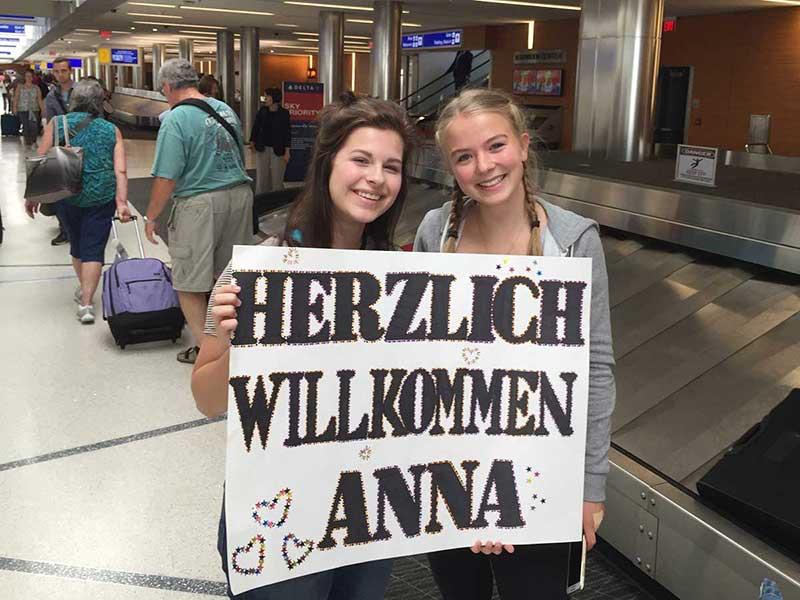 Highschool Austauschschülerin aus Deutschland